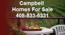 Homes For Sale in Campbell CA